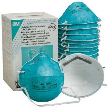 Out Face - Mask Moulded Fluid 3m Regular Size Sold N95