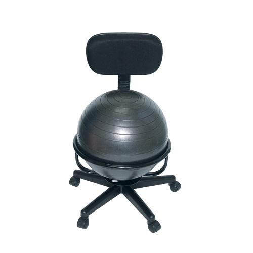 Bosu Ball Chair: Cando Exercise Metal Ball Chair