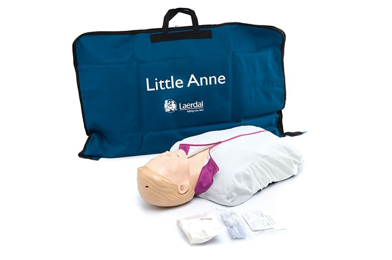 3f3d67c730 Laerdal Little Anne CPR Doll with Carry Bag - Single - MedWest ...