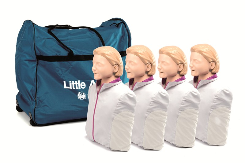 84f5d27c45 Laerdal Little Anne CPR Doll with Carry Bag - 4-Pack - MedWest ...