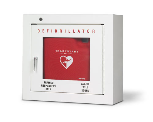 Aed Wall Mounted Alarmed Cabinet 16 5 Quot X 15 Quot X 6